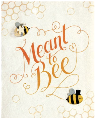 Good Paper Meant to Bee Card