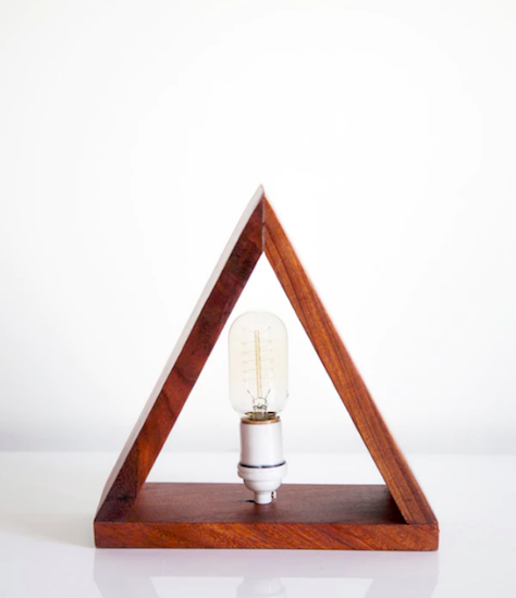 Rose & Fitzgerald Mugavu Triangle Lamp