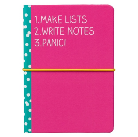 Wild & Wolf Make Lists - Sticky Notes & Notebook