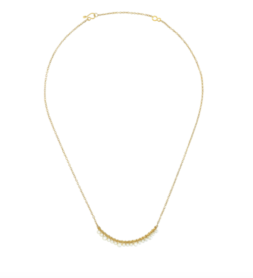 Purpose Jewelry Crystalline Necklace - Pearl