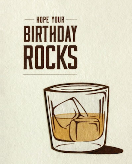 Good Paper Hope Your Birthday Rocks Card