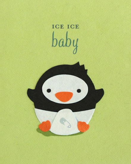 Good Paper Ice Ice Baby Card