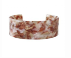 The Abi Lucite Open Cuff