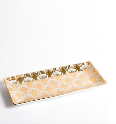 Gold Shell Trinket Tray