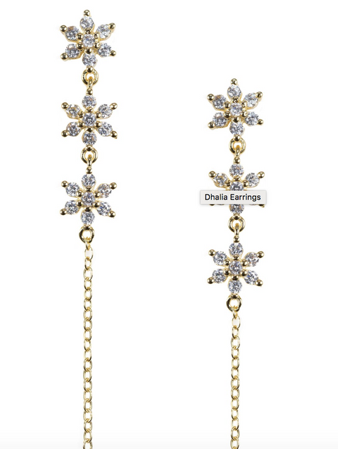 Bracha Dhalia Earrings
