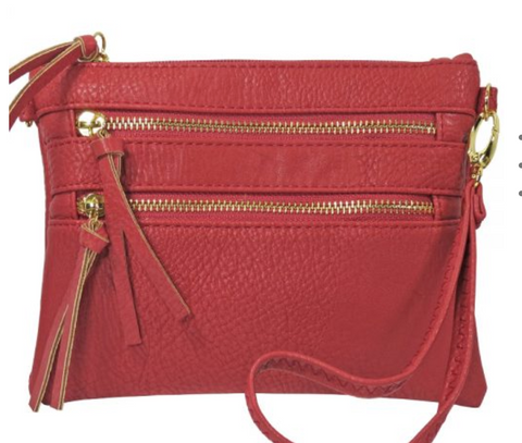 Envelope Foldover Clutch/Crossbody