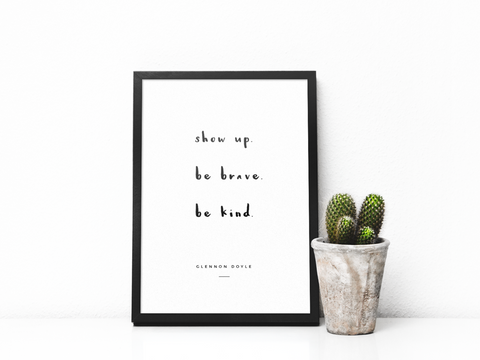 Show Up Large Print