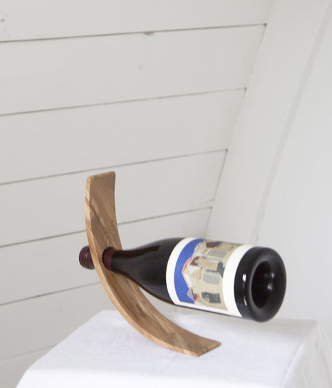 Rose & Fitzgerald Teak Wine Holder