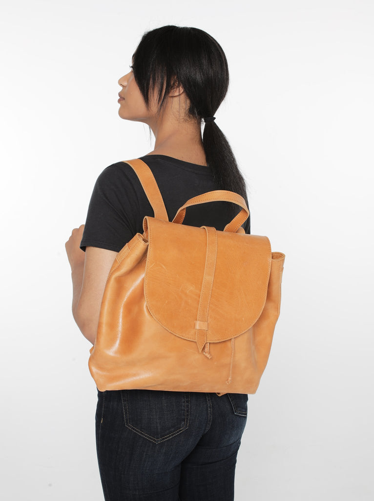 ABLE Tirhas Backpack Cognac