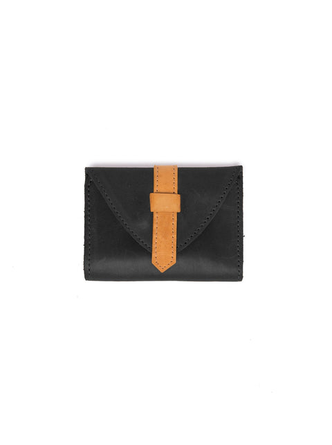 ABLE Tirhas Wallet in Cognac and Black