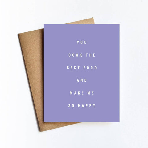 Cook Best Food Card