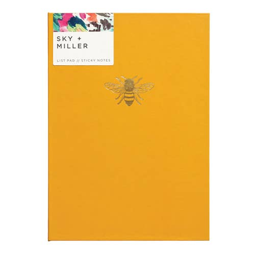 Sky + Miller - 'Bumble Bee' List Pad Set