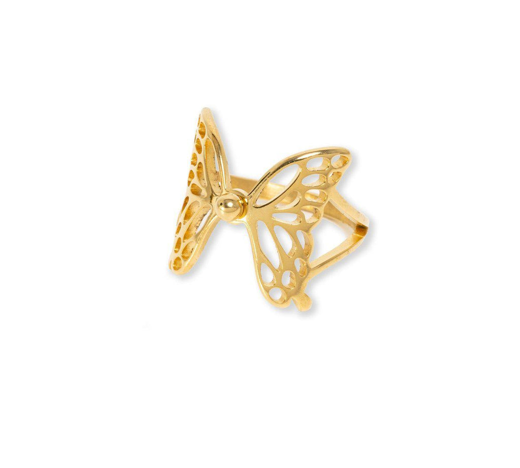 Cassie Butterfly Ring