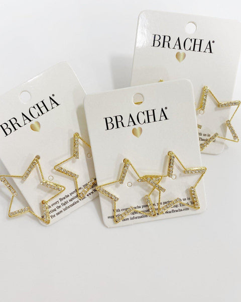 One Chance Star Studs