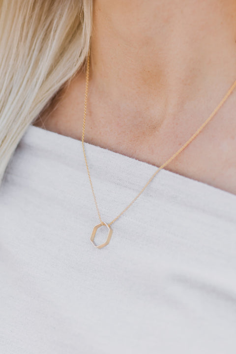 Purpose Jewelry Premier Geo Necklace