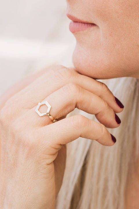 Purpose Jewelry Geo Ring