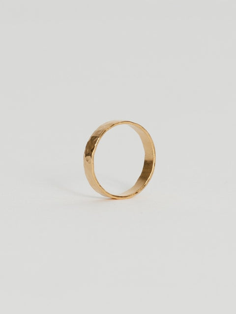 Tribe Alive - Hammered Band Ring