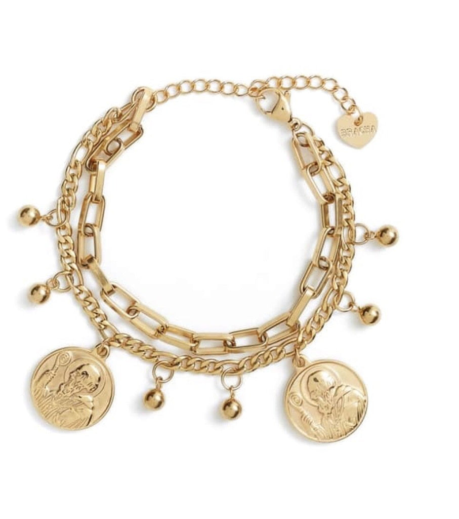 Bracha All Saints Coin Bracelet