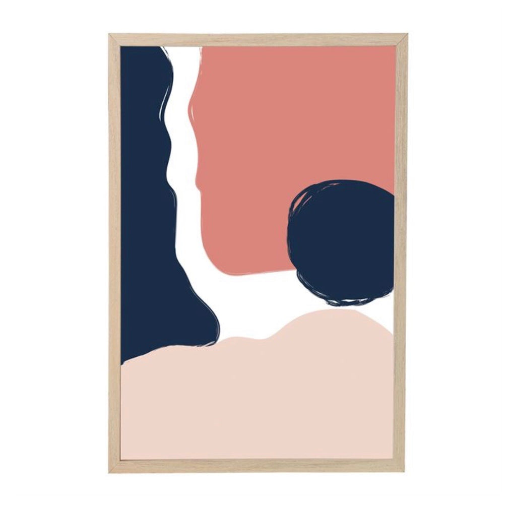 Abstract Print Framed Wall Art