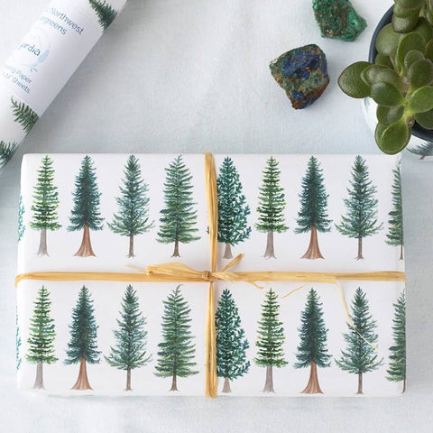 Evergreen Wrapping Paper