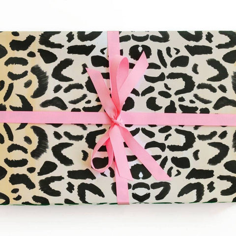 Leopard wrapping paper