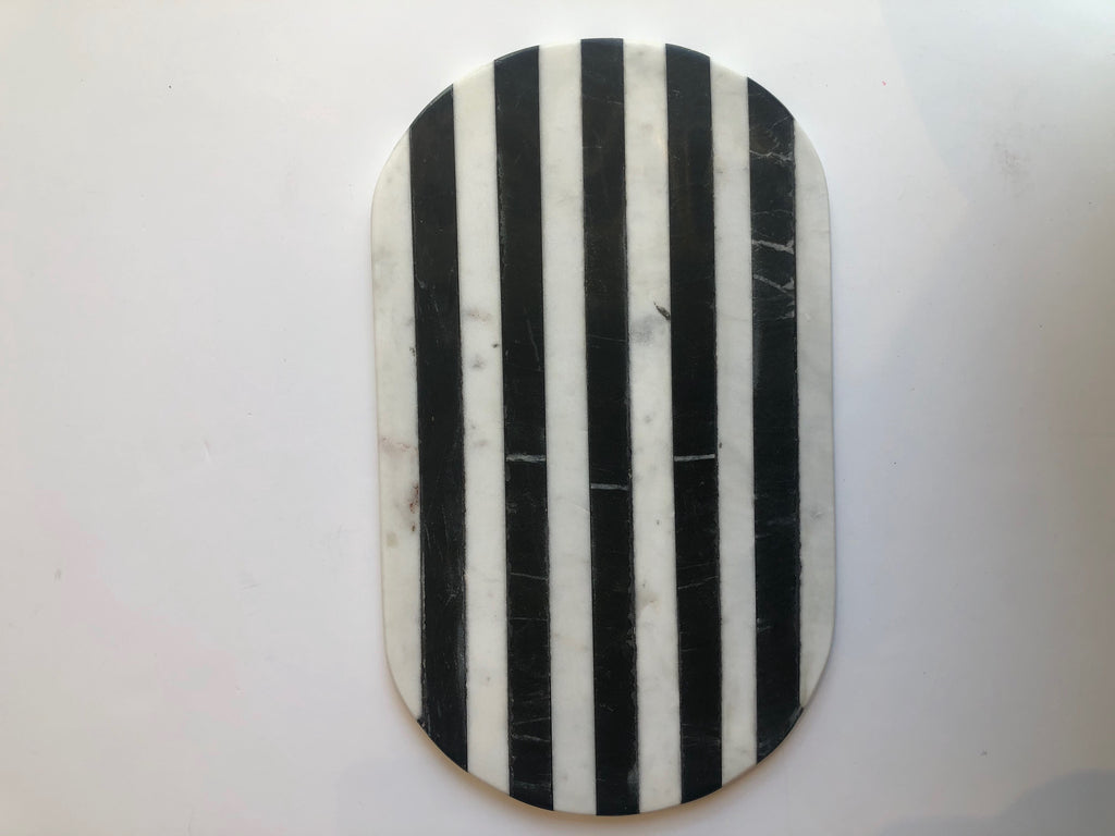 Black and White Marble/Tray Cutting Board