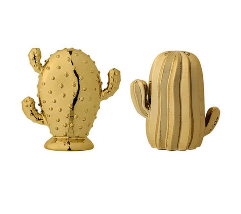 Gold Cactus Accent- 2 styles