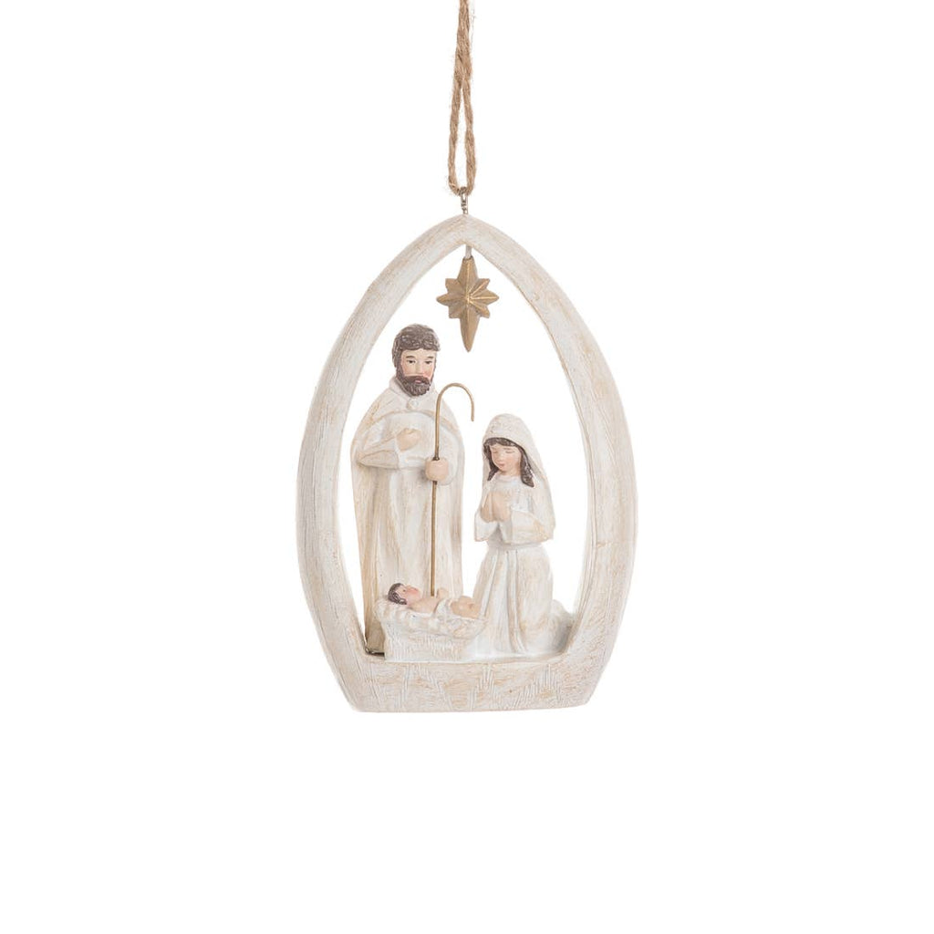 Woodland Nativity Ornament