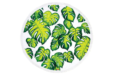 Pura Vida Round Beach Towels