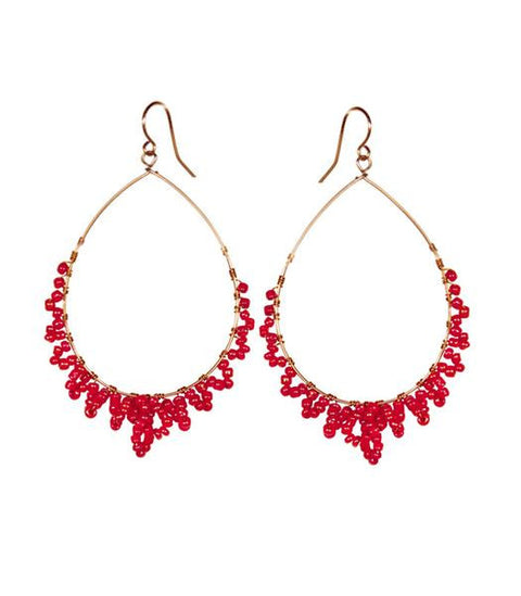 Purpose Jewelry Desert Drops Red