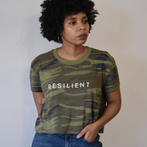Resilient Cropped Tee