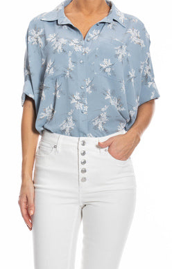 Floral Boxy Shirt