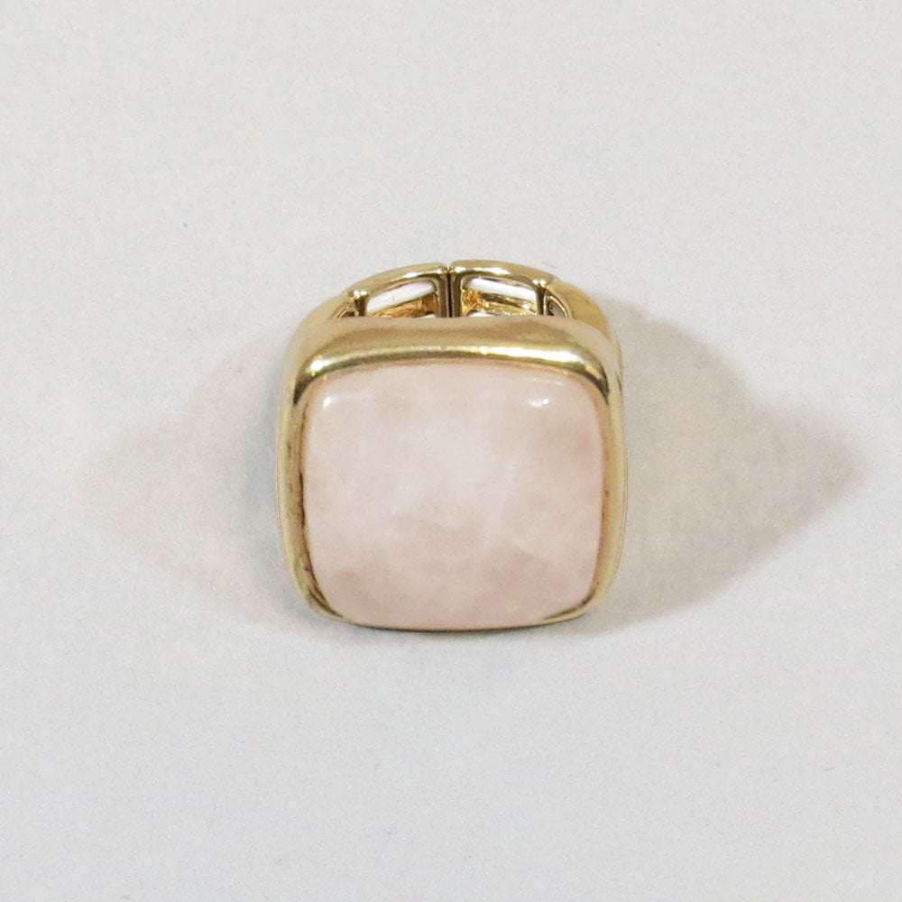 Square Stone Statement Ring