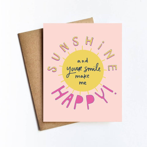 Sunshine Happy Card