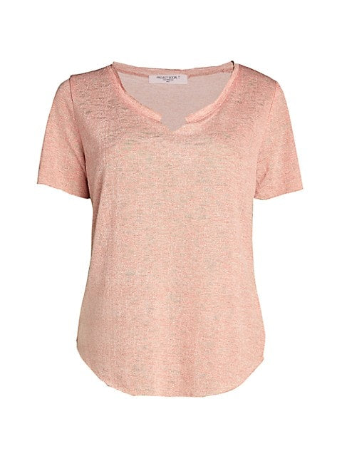 Suzie Shirttail Tee