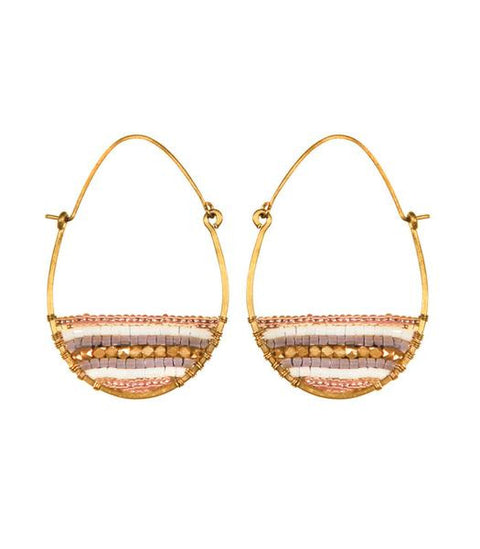 Purpose Jewelry Terra Gold Hoops