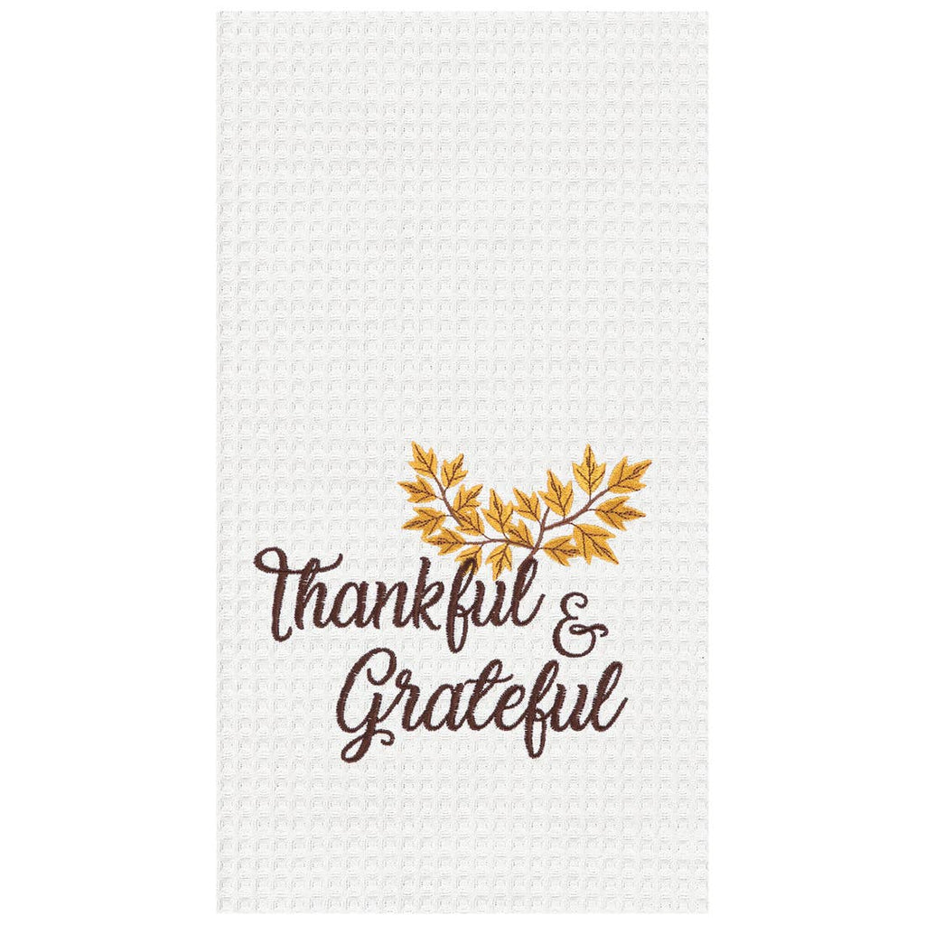 Thankful and Grateful Towel