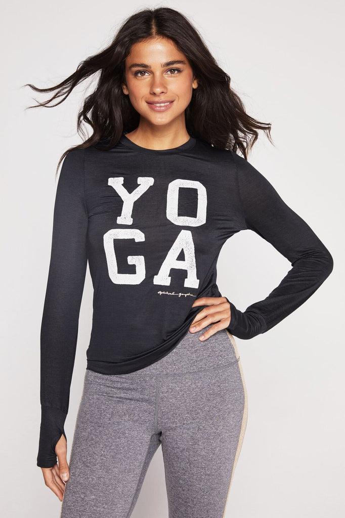 Spiritual Gangster Yoga Active Long Sleeve
