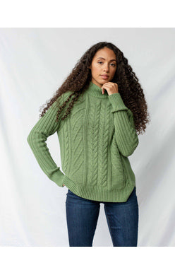 UBB Recycled Cotton Fisherman Sweater