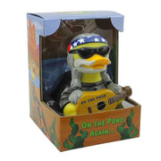 On the Pond Again Country Music RUBBER DUCK Costume Quacker Bath Toy