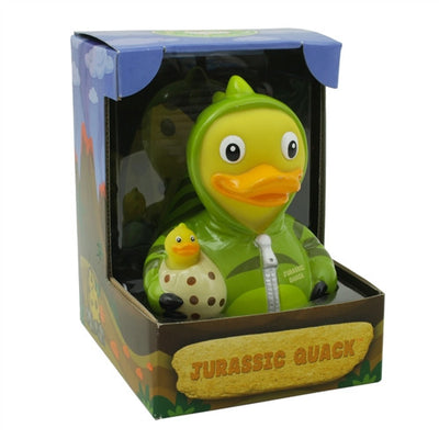Jurassic Quack Dinosaur RUBBER DUCK Costume Quacker Bath Toy by CelebriDucks