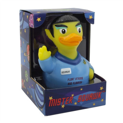 Mr. Squawk RUBBER DUCK Costume Quacker Bath Toy