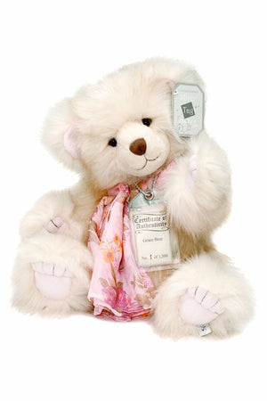 Silver Tag Series 2 Grace Bear Collectible Limited Edition Teddy from Suki