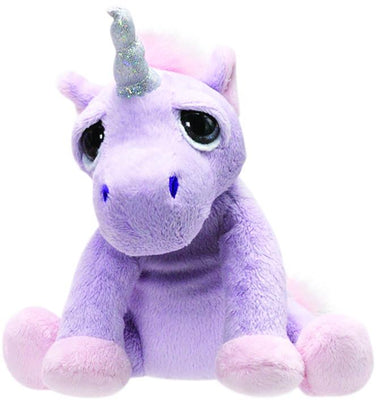 Li'l Peepers Small Lilac Shimmer Unicorn 12.7cm From Suki