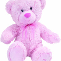 Pink Medium Bear (My First Teddy on paw) Collectible Teddy from Suki