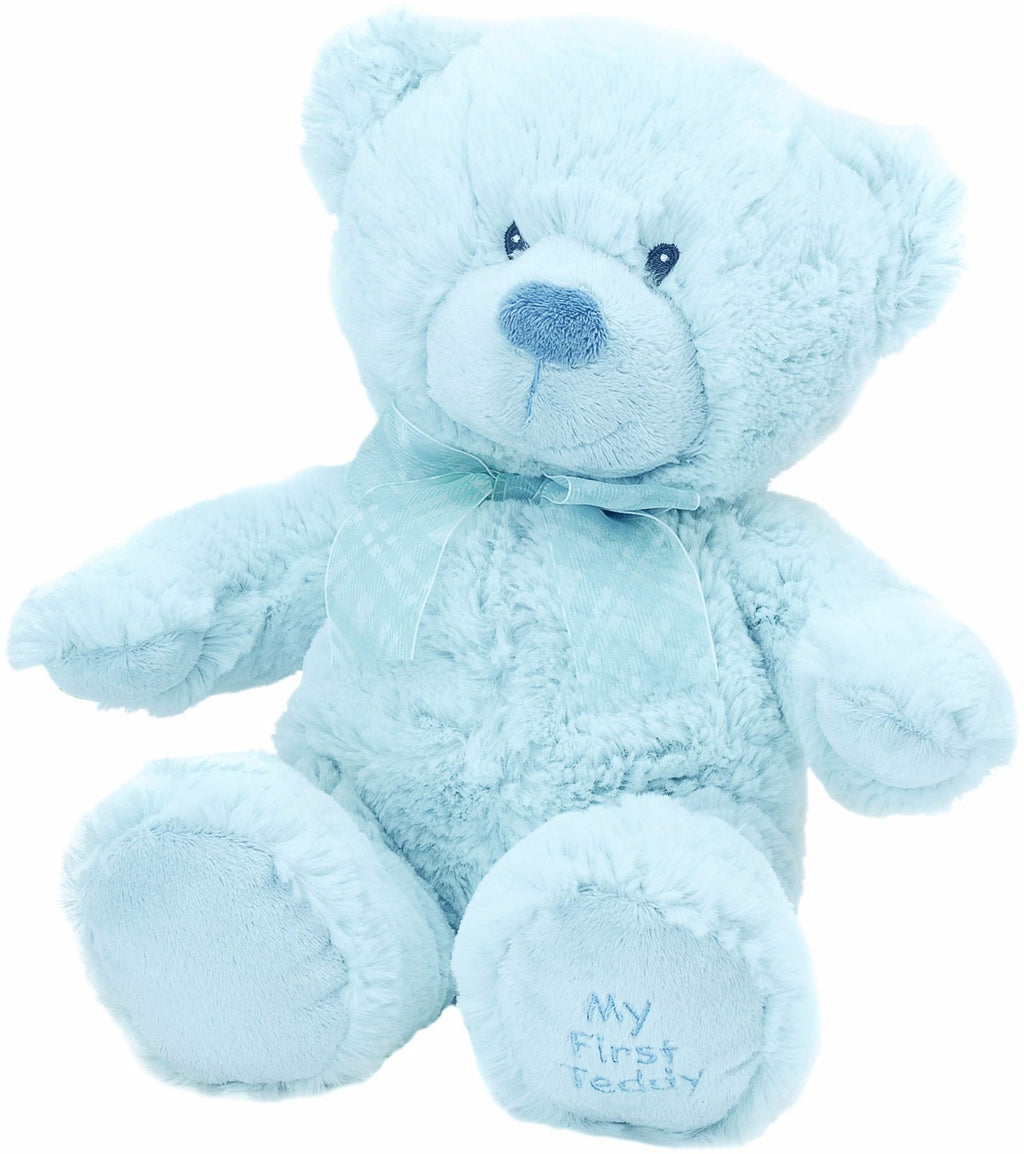 Blue Large Bear (My First Teddy on paw) Collectible Teddy from Suki