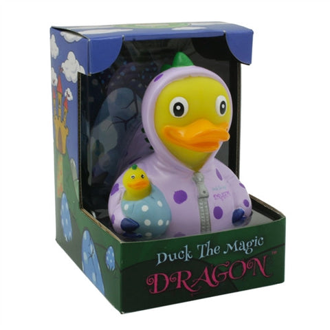 Duck the Magic Dragon RUBBER DUCK Costume Quacker Bath Toy