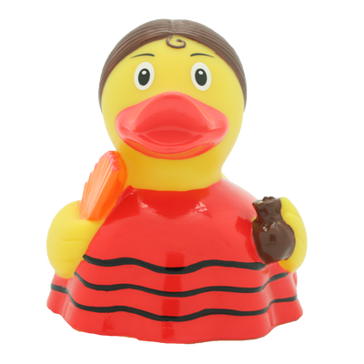 Flamenco Dancer Rubber Duck By Lilalu