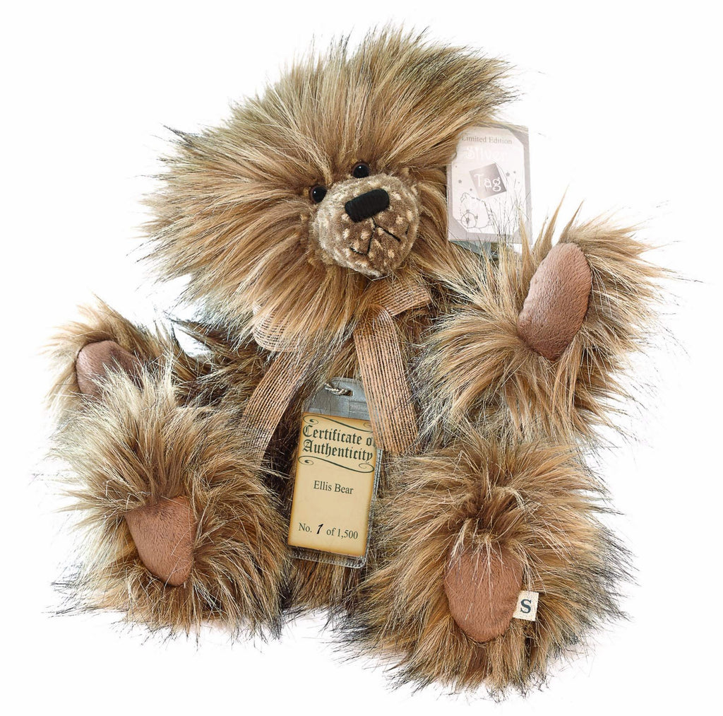 Silver Tag Series 1 Ellis Bear Collectible Limited Edition Teddy from Suki
