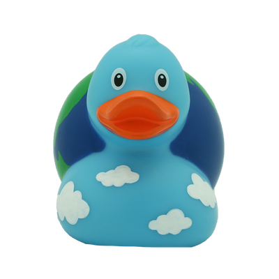 Globe Rubber Duck By Lilalu